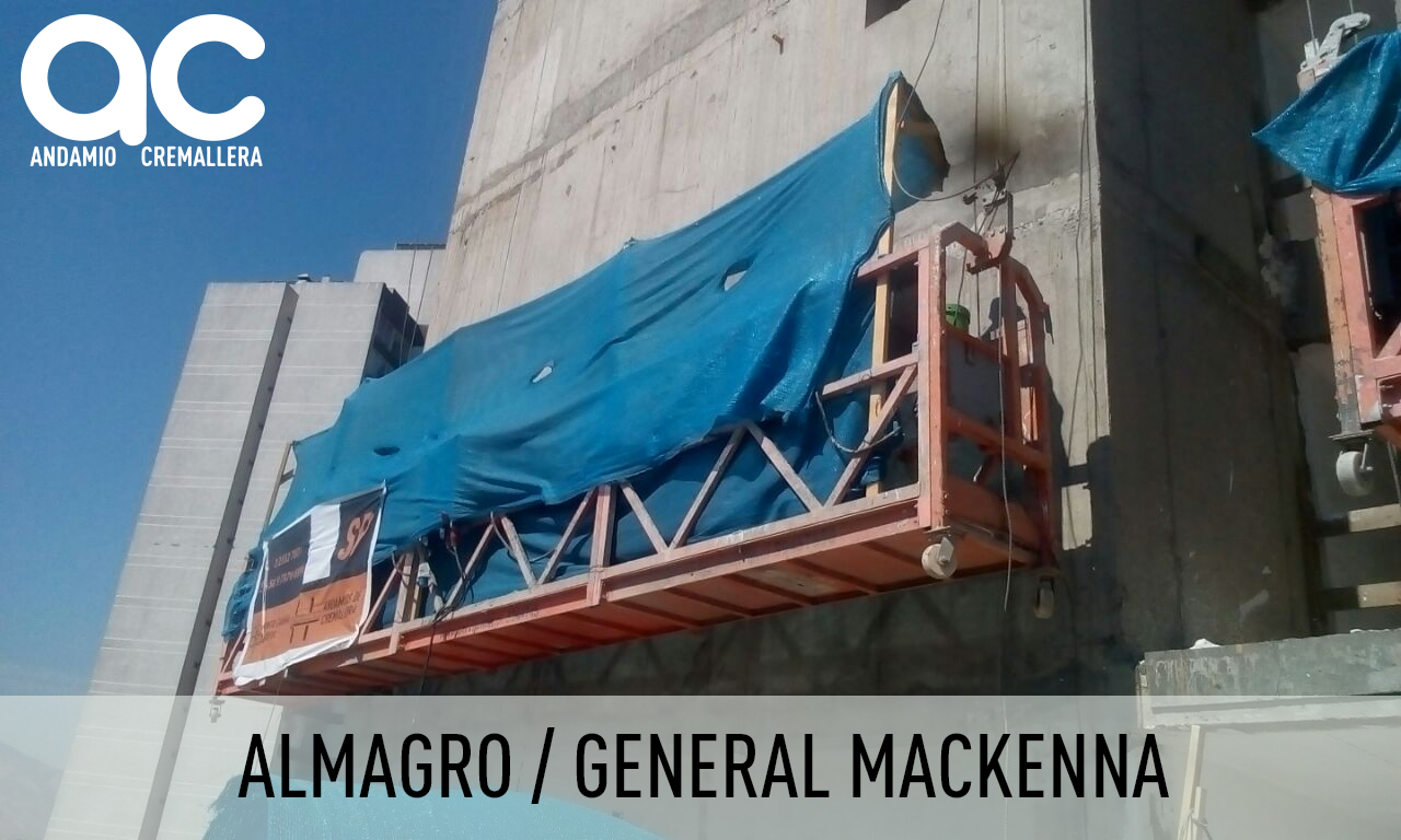 Almagro-General Mackenna-Andamios Colgantes